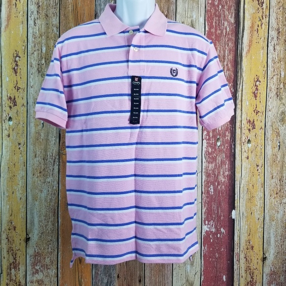 Chaps Other - NWT Chaps Short Sleeve Polo Pink Youth Sz XL 20